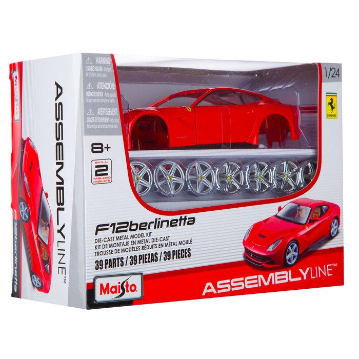 Ferrari Die Cast Metal Model Kit Hobby Lobby 1367614